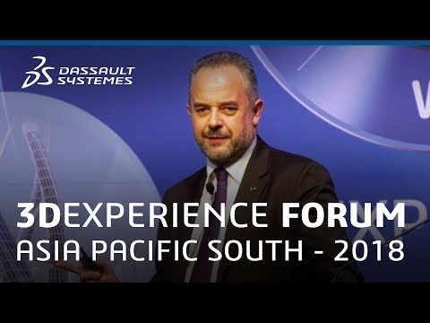 3DEXPERIENCE Forum Asia Pacific South 2018 - New Frontiers in Space - Dassault Systèmes
