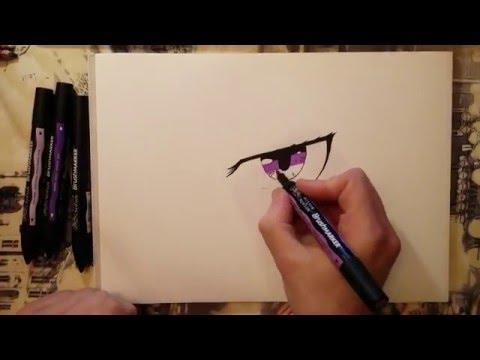 [Tuto] Comment dessiner un oeil manga