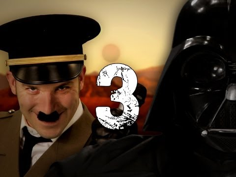 Hitler vs Vader 3. Epic Rap Battles of...