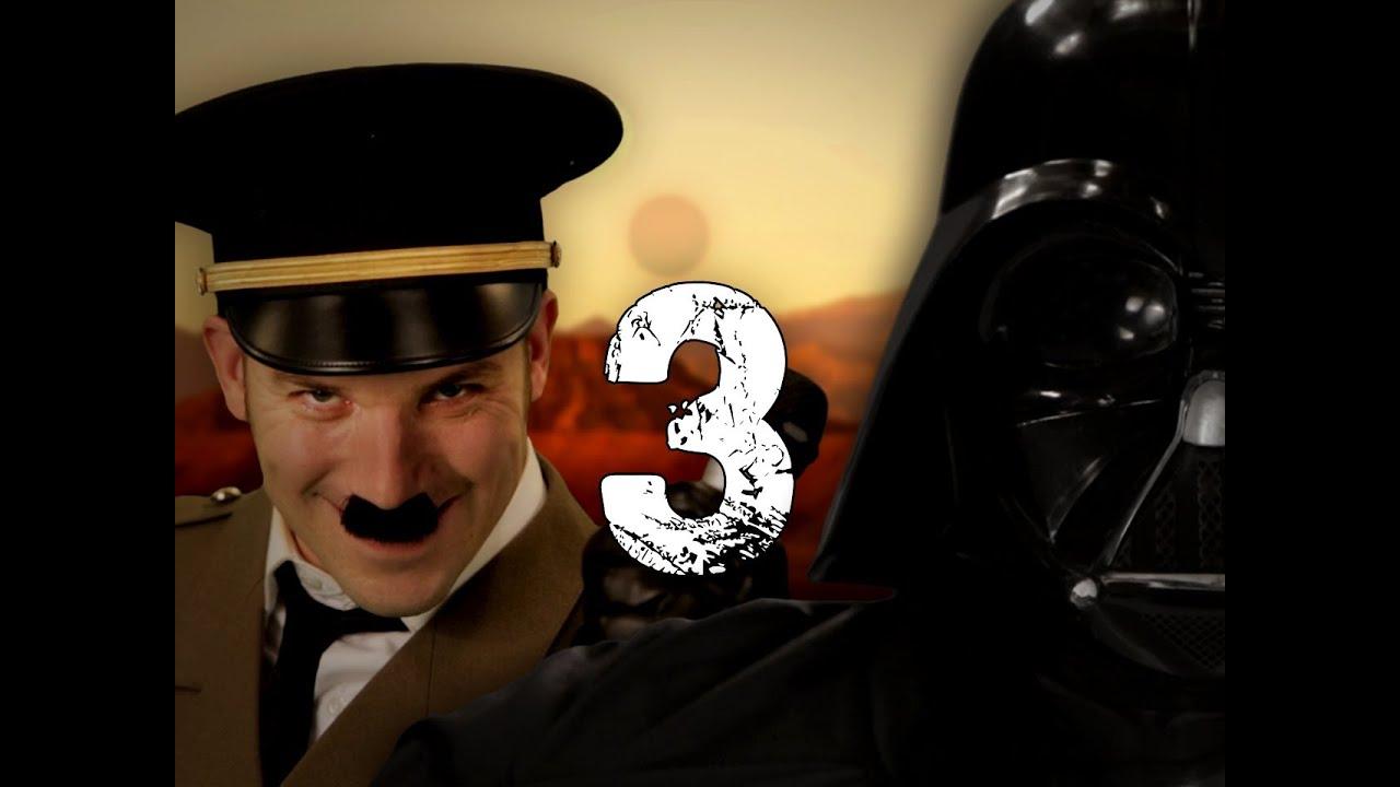 Hitler vs Vader 3. Epic Rap Battles of History