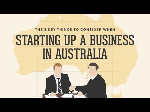 Starting a Business in Australia: 5 Key Things