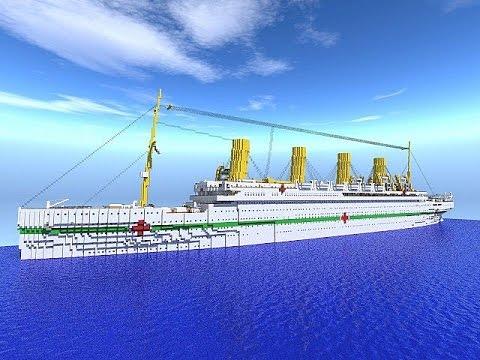 Sinking Simulator Plays Minecraft Hmhs Britannic Youtube