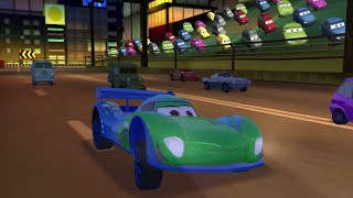 Cars 2 The Game Carla Veloso Race Gameplay