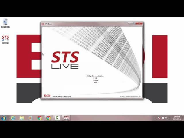 Upgrade STS-LIVE
