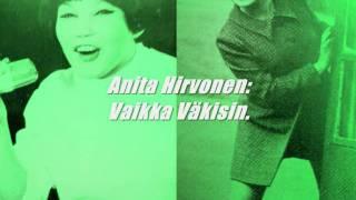 Anita Hirvonen - Vaikka Väkisin ( 1969 ).