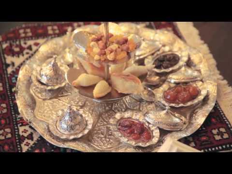 Traditional Azerbaijan Tea Ceremony at Kempinski Hotel Badamdar-Holiday Azerbaijan Travel