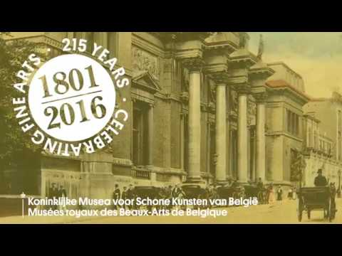 215th Anniversary of the Royal Museums of Fine Arts of Belgium