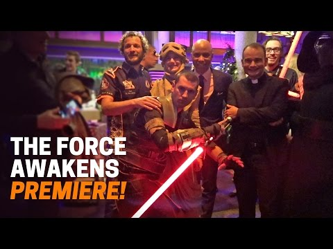 My Star Wars VIP Premiere!
