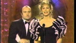Phil Collins on the Golden Globes, Jan. 28, 1989