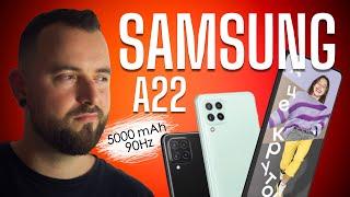 Фото Обзор Samsung Galaxy A22. 90Hz   5000 MAh