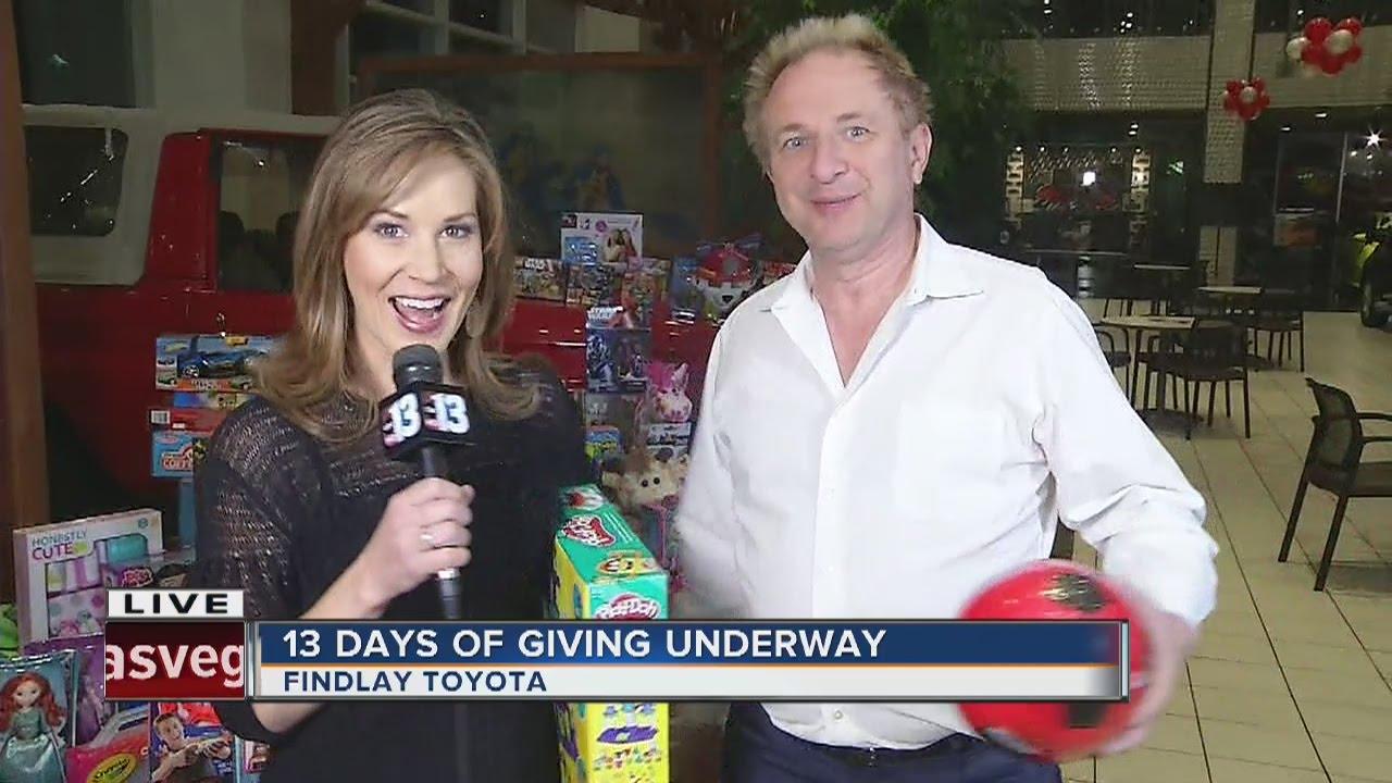 Amazing 13 Days Of Giving: John Barr At Findlay Toyota. KTNV Channel 13 Las Vegas