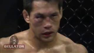 Bellator MMA Highlight: Toby Imada vs Jorge Masvidal - Reverse Triangle Choke!