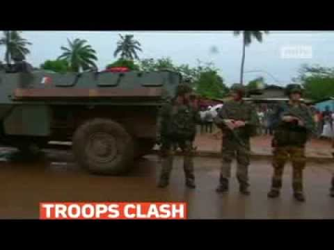 mitv - French troops fought gunmen in Central African Republic's capital