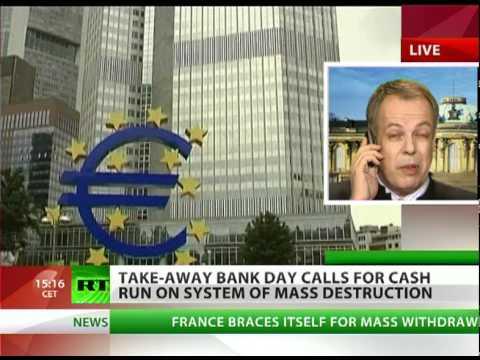 Take-Away Bank Day calls for Cash Run of Mass Destruction