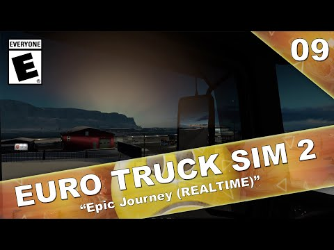 EPIC JOURNEY - ICELAND TO ITALY (REALTIME) | Euro Truck Simulator 2 | Part 9