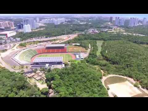 Voo no Estádio de Pituaçu