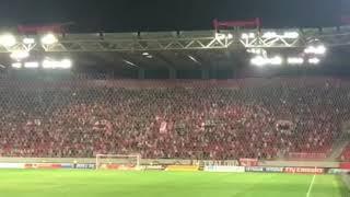 Olympiacos F.C.(オリンピアコス) の応援、サポーター @ギリシャ