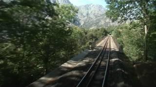 Voyage bucolique à bord d'un train corse