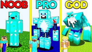 Minecraft Battle Noob Vs Pro Vs God Diamond Monster Mutant Challenge  Animation