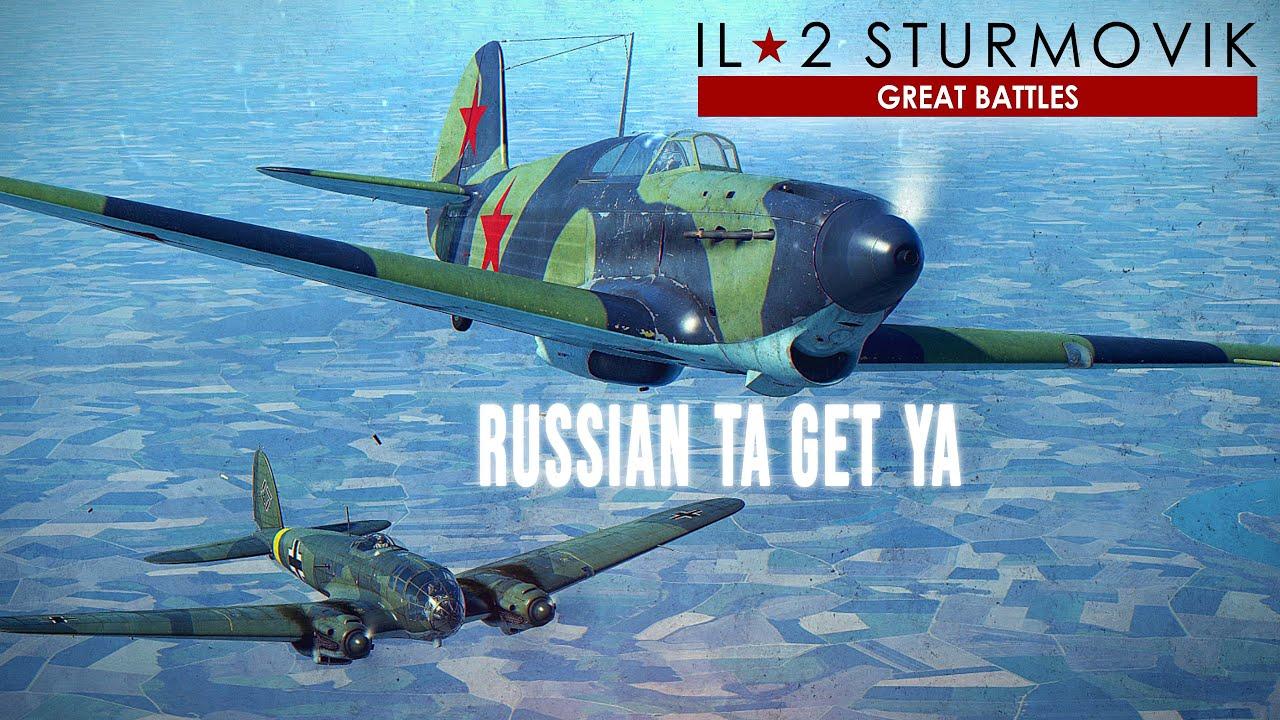 Download Soviet Yak-1B Dogfights Over Russia   Bf109   World War II   IL-2 Great Battles.