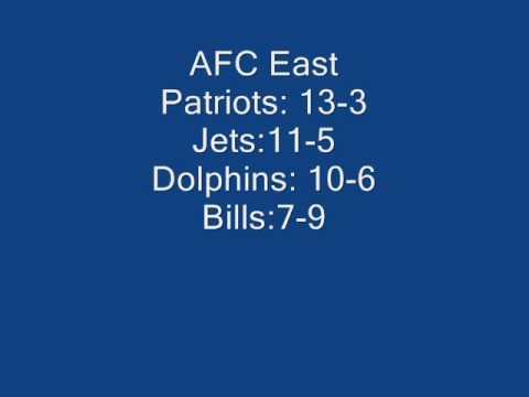 new 2009 NFL season predictions