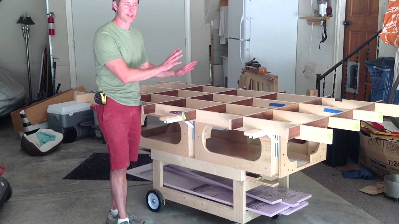 Ultimate Track Saw Workbench - YouTube