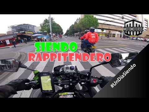 e day being RAPPITENDERO  Motomoteros