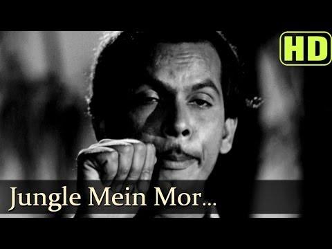 Jungle Mai Mor Naachaa (HD) - Madhumati Songs - Dilip Kumar - Vyjayantimala - Mohd Rafi