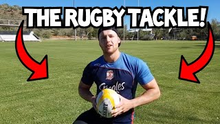5 Steps to a Better Rugby Tackle | Rugby Skills Tutorial