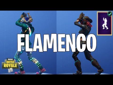 DANCE FLAMENCO Clap it up! Fortnite Battle Royale
