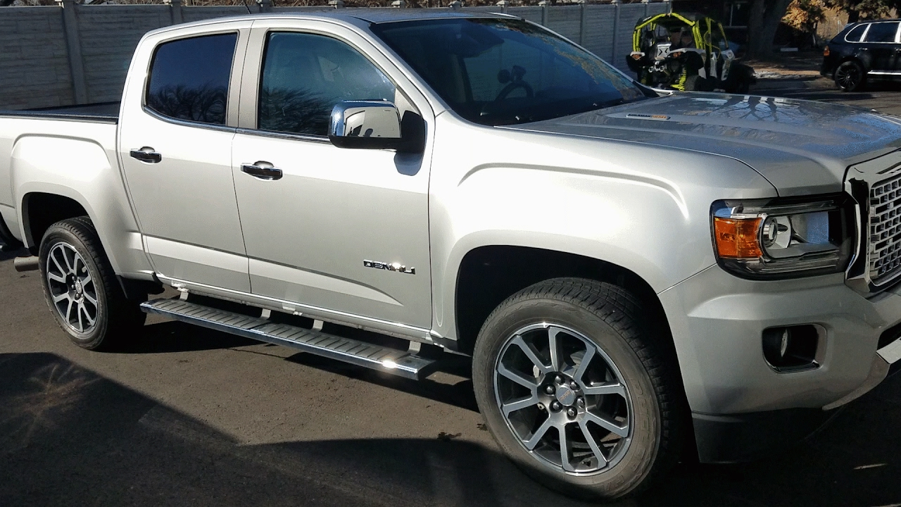 2017 gmc canyon denali duramax diesel review youtube. Black Bedroom Furniture Sets. Home Design Ideas