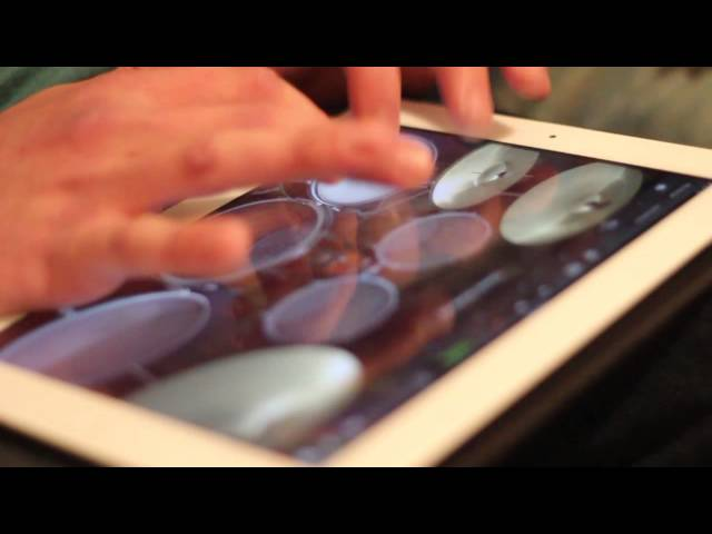 Miles iPad Drum Solo