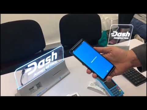 Lorenzo pays with Dash using EletroPay