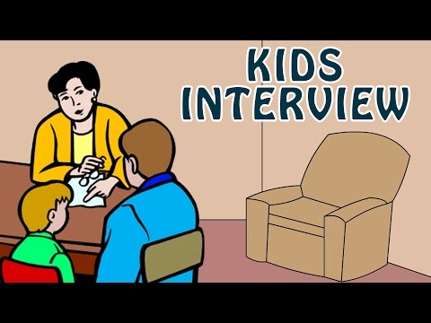 Kids Interview   Learn How to give Interview for Schools