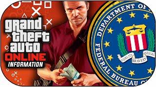 GTA 5 Online - FBI Investigating PSN Xbox Attacks & Shark Card MONEY Not Saving (GTA V Gameplay)