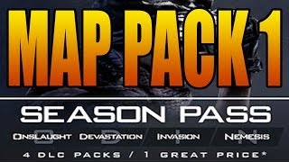 COD Ghosts - MAP PACK 1 Release Date and Maps Names (Call of Duty Ghost DLC Invasion January 28)