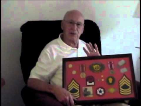 William Arnold Peak, Master Sergeant, US Army, World War Two
