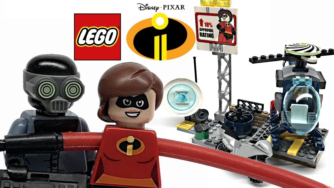 Underminer Minifigure Split from 10760 LEGO The Incredibles 2
