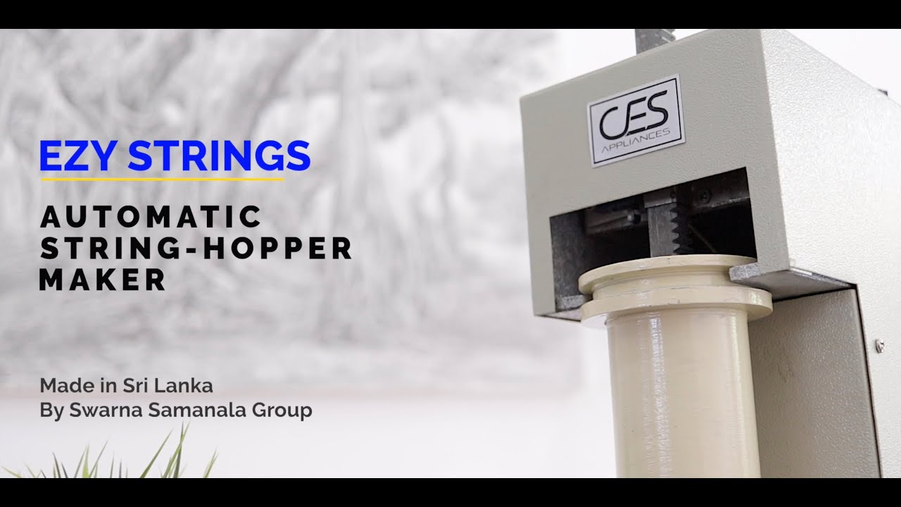 Automatic String Hopper Maker in Sri Lanka
