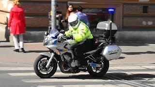 Motocykl Policie Praha