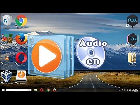 How To Burn an Audio CD using Windows Media Player