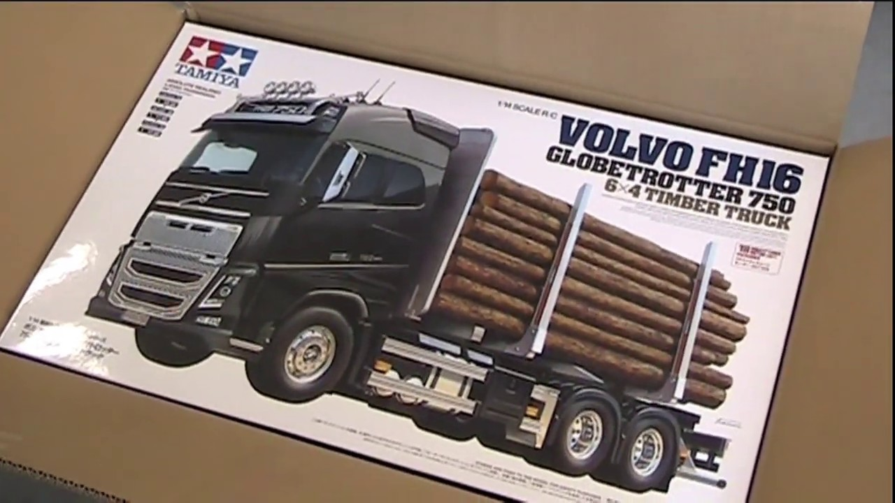 arrivage des nouveaux camions tamiya volvo fh16 youtube. Black Bedroom Furniture Sets. Home Design Ideas