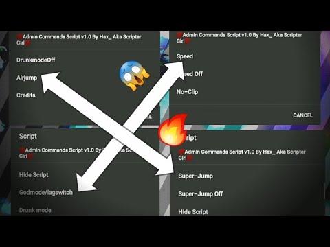 Roblox Admin Commands Beta Script Gameguardian 2020