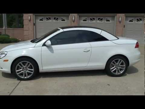 2008 VOLKSWAGEN EOS 2 0T HARD TOP CONVERTIBLE FOR SALE SEE ...