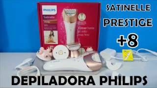 DEPILADORA PHILIPS SATINELLE PRESTIGE BRE650
