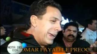 Omar Fayad Hablando de Jose Eduardo en  Ventaneando 14/10/2010