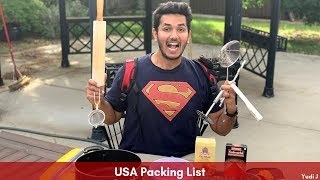 Things To Bring/Pack For USA! USA Packing List When Coming For Masters or Bachelors