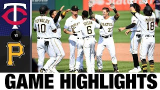 Kevin Newman, Pirates rally in walk-off win | Twins-Pirates Game Highlights 8/6/20