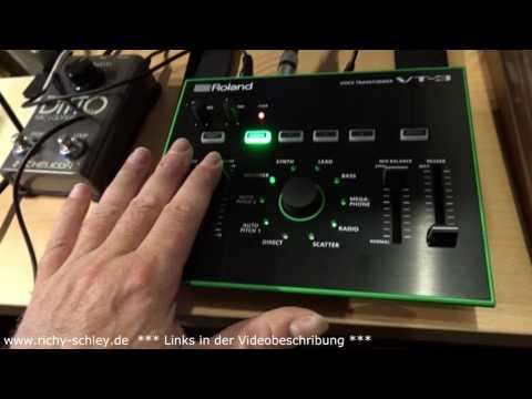 Random Voice Effects - Roland VT-3 & shortwave radio/Kurzwelle Radio