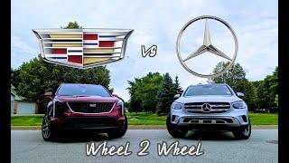 WHEEL 2 WHEEL   2020 Mercedes GLC vs Cadillac XT4 - American Extravagance vs German Opulence